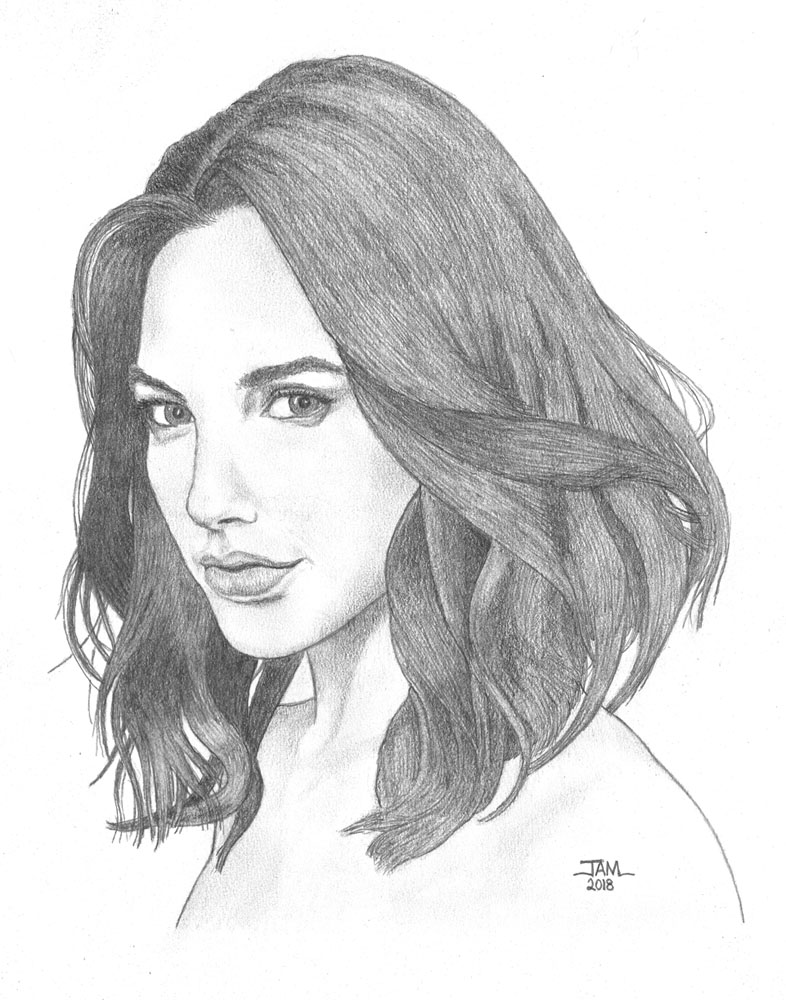 pencil drawings and sketches of actresses and actors